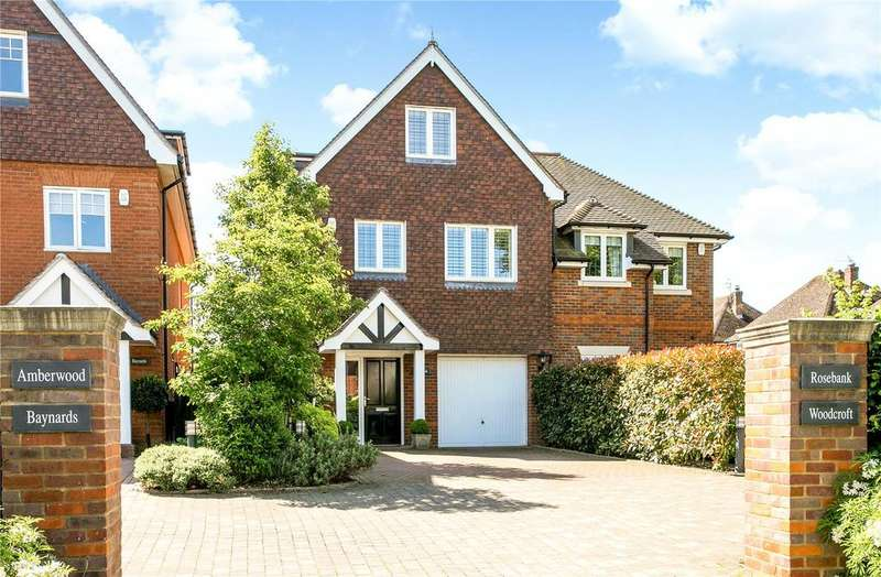 3 Bedrooms Semi Detached House for sale in Wharf Lane, Bourne End, Buckinghamshire, SL8