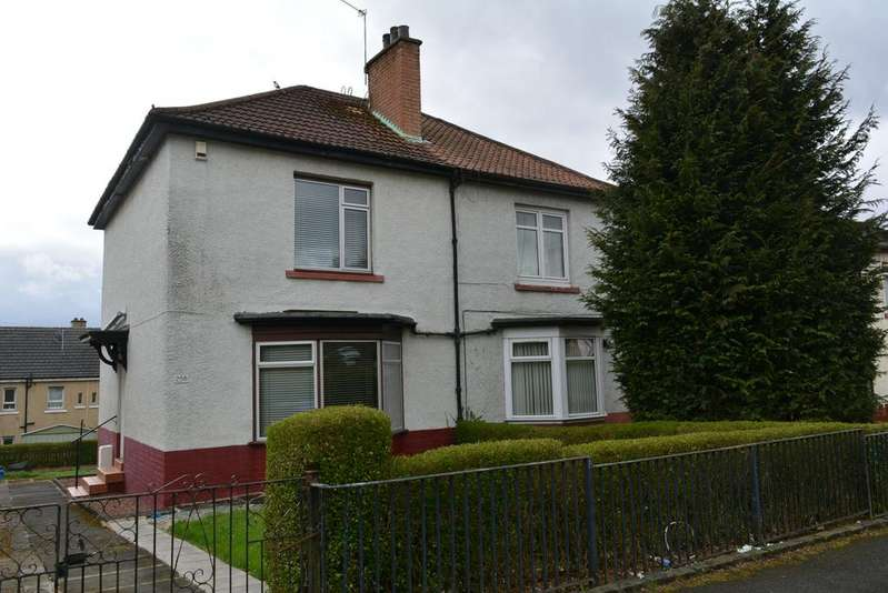 2 Bedrooms Semi Detached House for sale in 256 Haymarket Street, Glasgow, G32 6QX