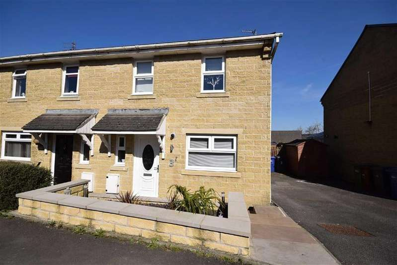 3 Bedrooms Semi Detached House for sale in Grindlestone Hirst, Colne, Lancashire