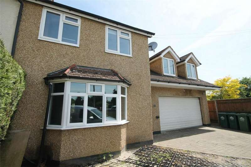 4 Bedrooms Semi Detached House for sale in Rosary Gardens, Ashford, Surrey