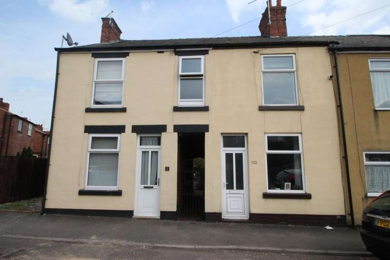 2 Bedrooms Terraced House for sale in Derby Road, Chesterfield, S40
