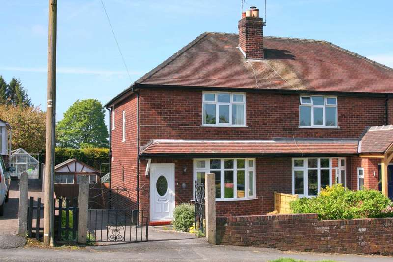 2 Bedrooms Semi Detached House for sale in South West Avenue, Bollington