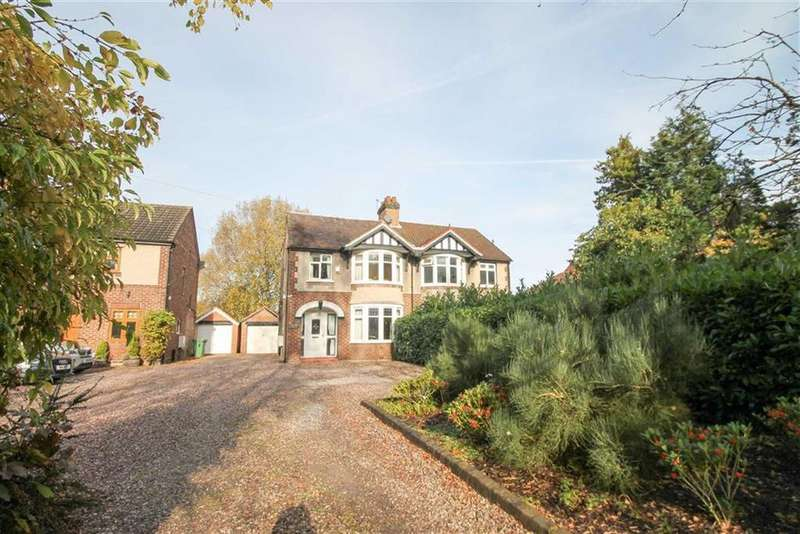 3 Bedrooms Semi Detached House for sale in Chester Road, Sandiway