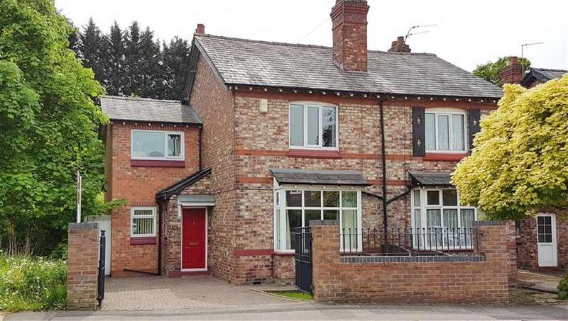 3 Bedrooms Semi Detached House for sale in Dean Row Road, Wilmslow