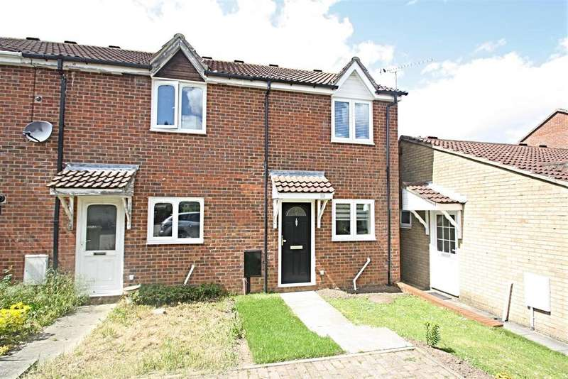 2 Bedrooms End Of Terrace House for sale in Sunningdale Way, Bletchley, Milton Keynes