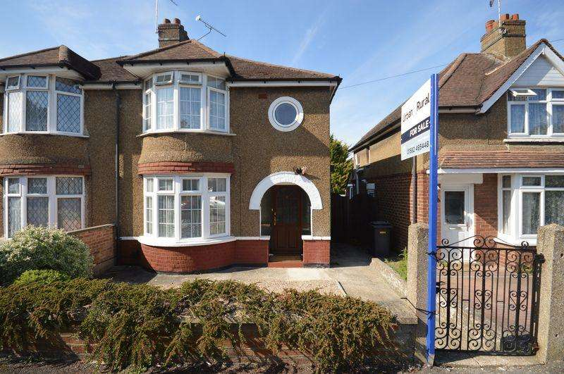 3 Bedrooms Semi Detached House for sale in Windermere Crescent, Luton