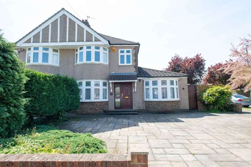 4 Bedrooms Semi Detached House for sale in Brooklands Avenue, Sidcup, DA15