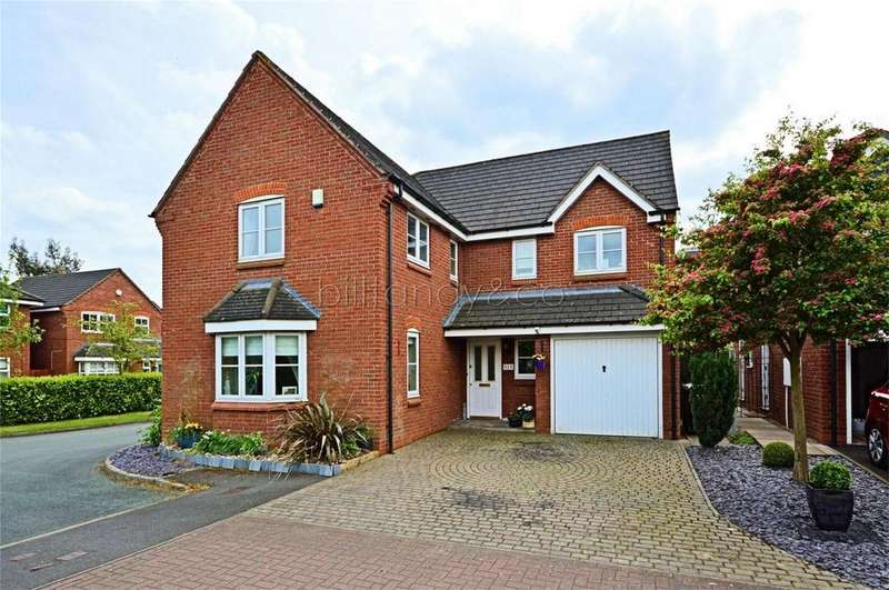4 Bedrooms Detached House for sale in Yorkshire Way, Burntwood, Staffordshire
