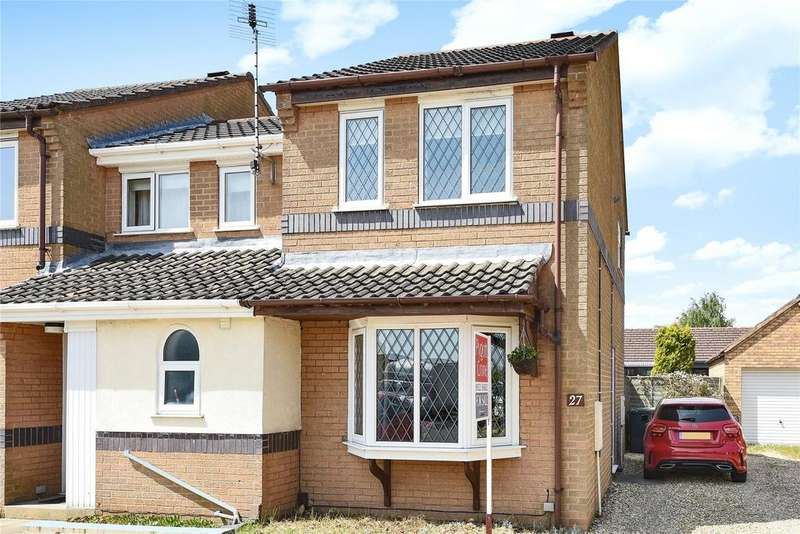 2 Bedrooms End Of Terrace House for sale in Ridgewell Close, Lincoln, LN6