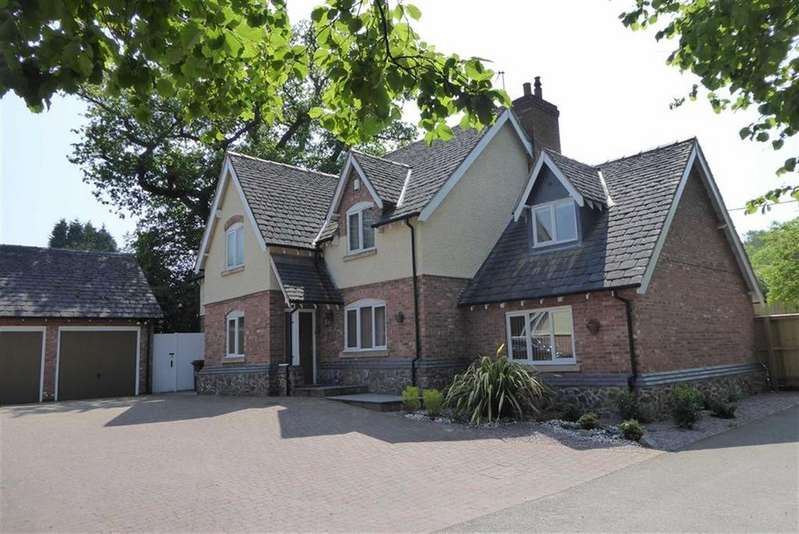 5 Bedrooms Detached House for sale in Stamford Rise, Newtown Linford