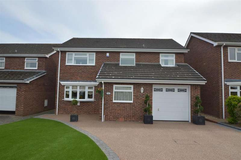 4 Bedrooms House for sale in 4 Reynaulds Close, Shrewsbury SY2 5YT