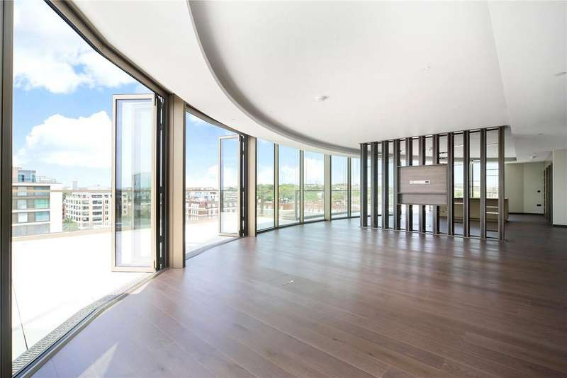 3 Bedrooms Penthouse Flat for sale in Thomas Earle House, 1 Warwick Lane, London, W14