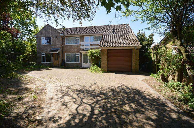 5 Bedrooms Detached House for sale in Wheatfield Road, Luton