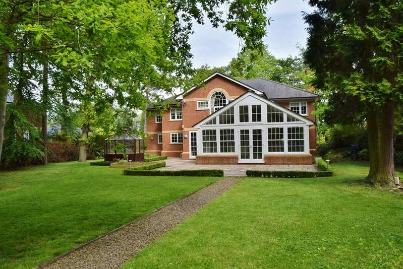 5 Bedrooms Detached House for sale in Western Way, Darras Hall, Ponteland, Newcastle upon Tyne, NE20