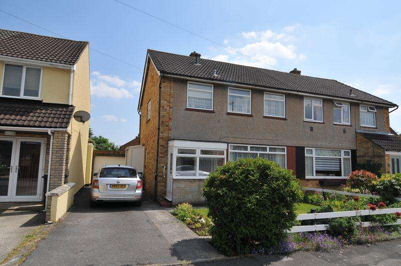 3 Bedrooms Semi Detached House for sale in Burfoote Gardens, Stockwood, Bristol, BS14