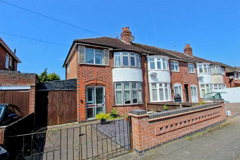 3 Bedrooms End Of Terrace House for sale in Lymington Road, Leicester