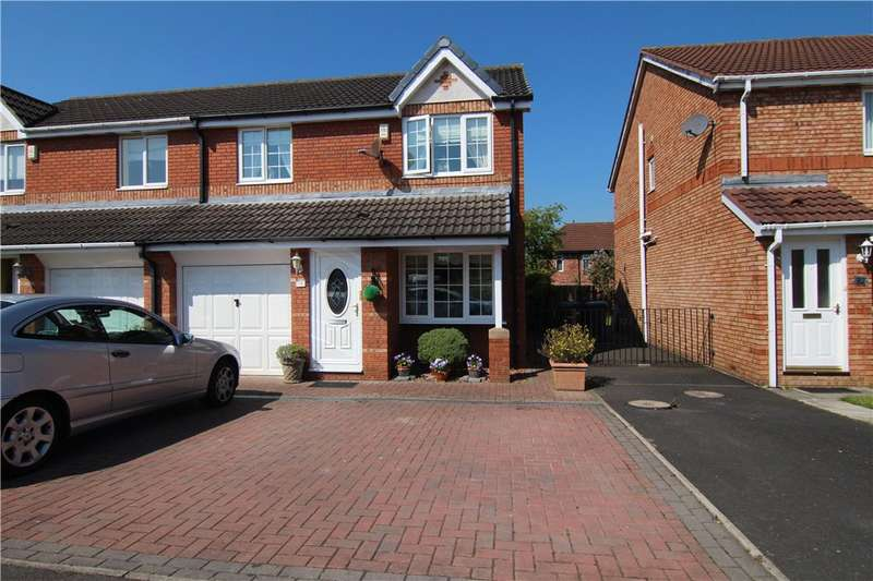 3 Bedrooms Semi Detached House for sale in Habgood Drive, Gilesgate, DH1