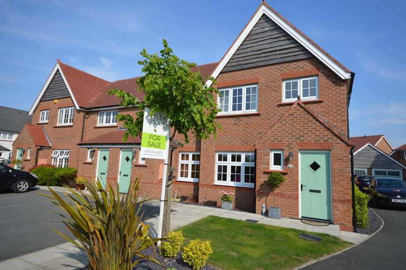 3 Bedrooms End Of Terrace House for sale in Hulme Close, Bromborough