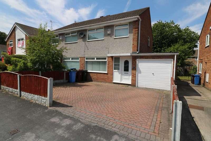 3 Bedrooms Semi Detached House for rent in Trispen Close, Halewood