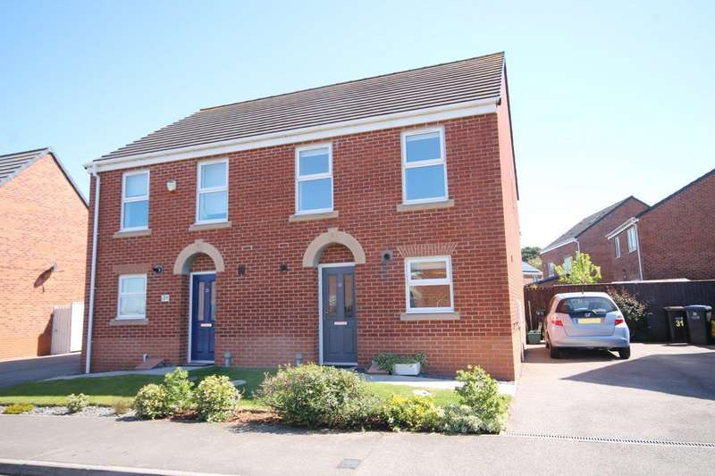 3 Bedrooms Semi Detached House for rent in Cavell Drive, Bowburn, Durham