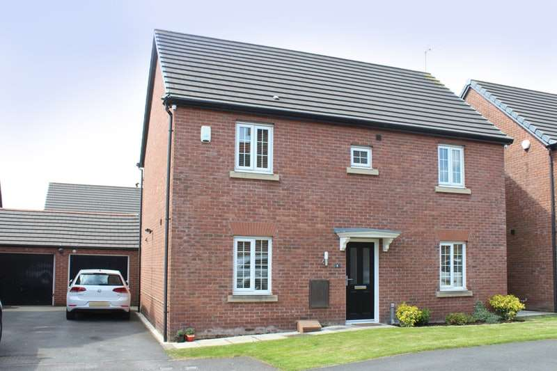4 Bedrooms Detached House for sale in Kerr Close, Liverpool, Merseyside, L33