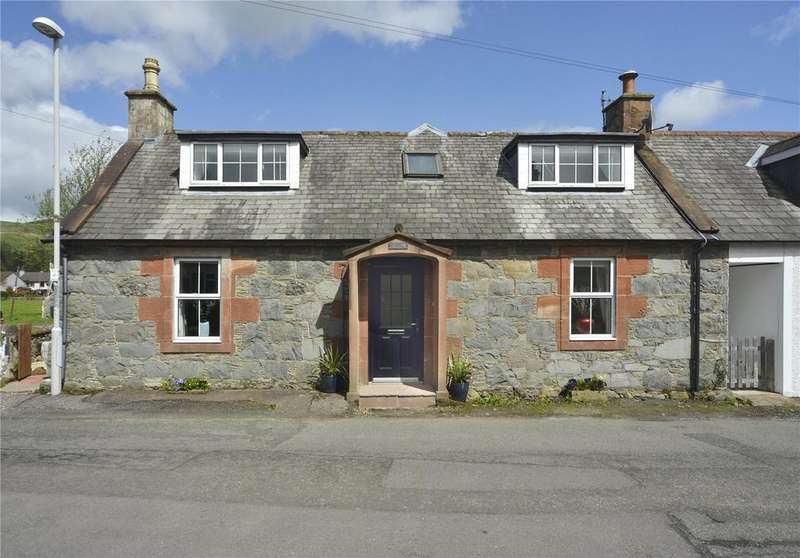 3 Bedrooms Semi Detached House for sale in Rose Cottage, Ayr Street, Moniaive, Dumfriesshire
