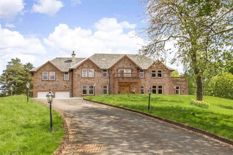 5 Bedrooms Detached House for sale in Cragsfern, Houston Road, Kilmacolm, Renfrewshire, PA13