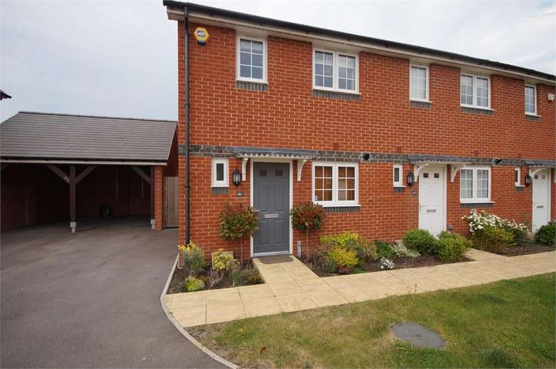 2 Bedrooms End Of Terrace House for sale in Fawn Drive, Three Mile Cross, READING, Berkshire
