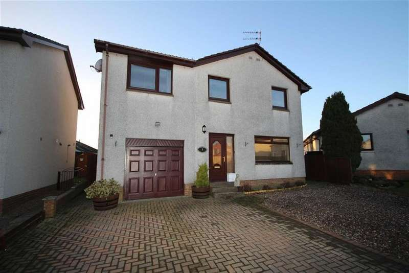 4 Bedrooms Detached House for sale in 7, Crawford Park, Springfield, Fife, KY15