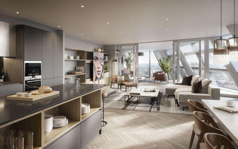 2 Bedrooms Apartment Flat for sale in Southwark Bridge Road, London