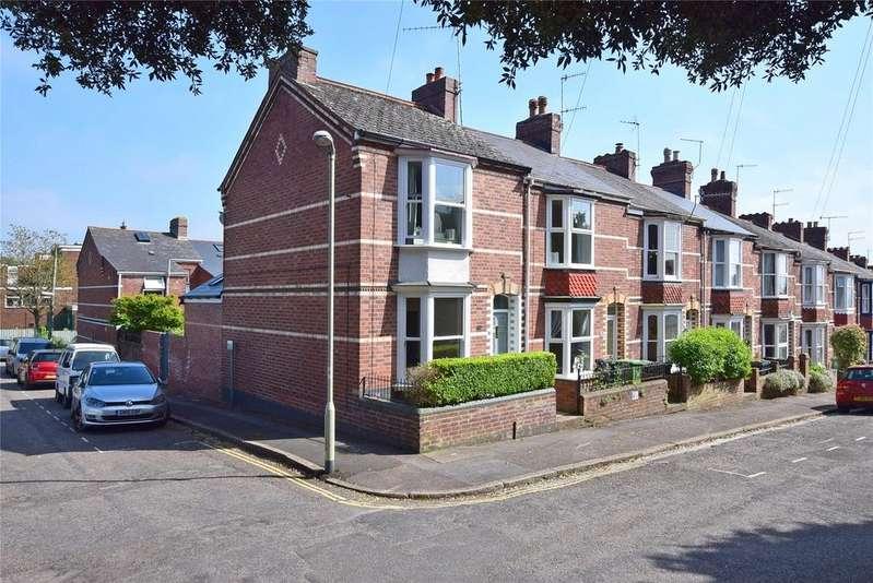 2 Bedrooms End Of Terrace House for sale in St Leonards Avenue, Exeter, Devon
