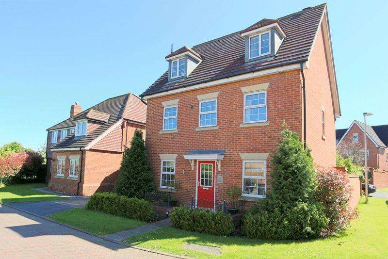 5 Bedrooms Detached House for sale in Brampton Close, Wychwood Village, Weston