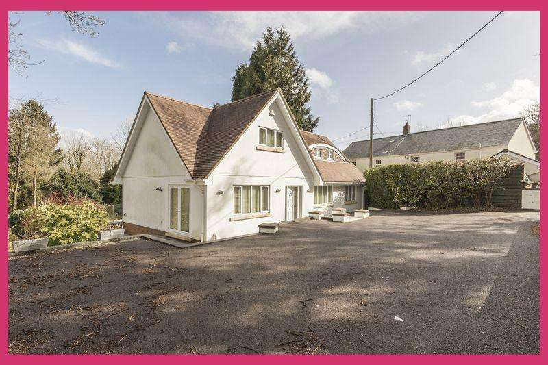 5 Bedrooms Detached House for sale in Rudry, Caerphilly - Pinkmove REF# - 00004036