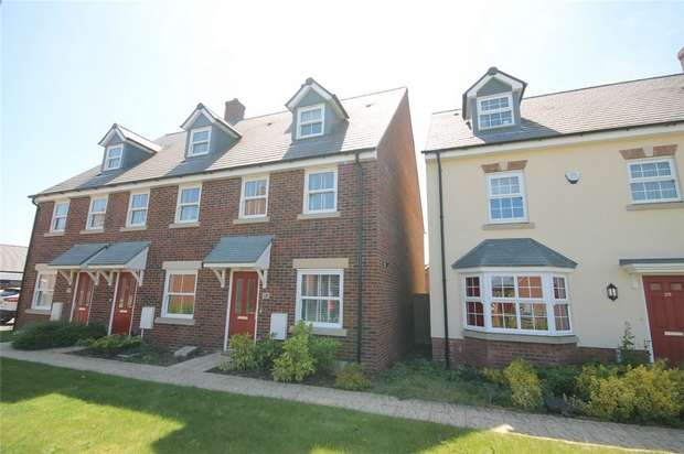 3 Bedrooms End Of Terrace House for sale in Avocet Road, Wixams, Bedford