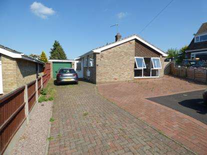 3 Bedrooms Bungalow for sale in Thurlby Close, Washingborough, Lincoln, Lincolnshire