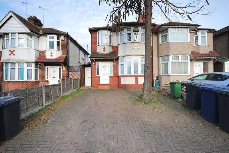 5 Bedrooms Semi Detached House for sale in PRIORY GARDENS, LONDON, W5 1DY
