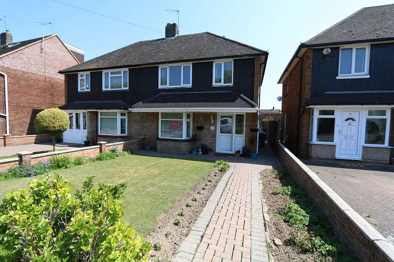 3 Bedrooms Semi Detached House for sale in Pegsdon Close, Luton, Bedfordshire, LU3