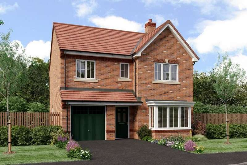 4 Bedrooms Detached House for sale in Hind Heath Road, Sandbach