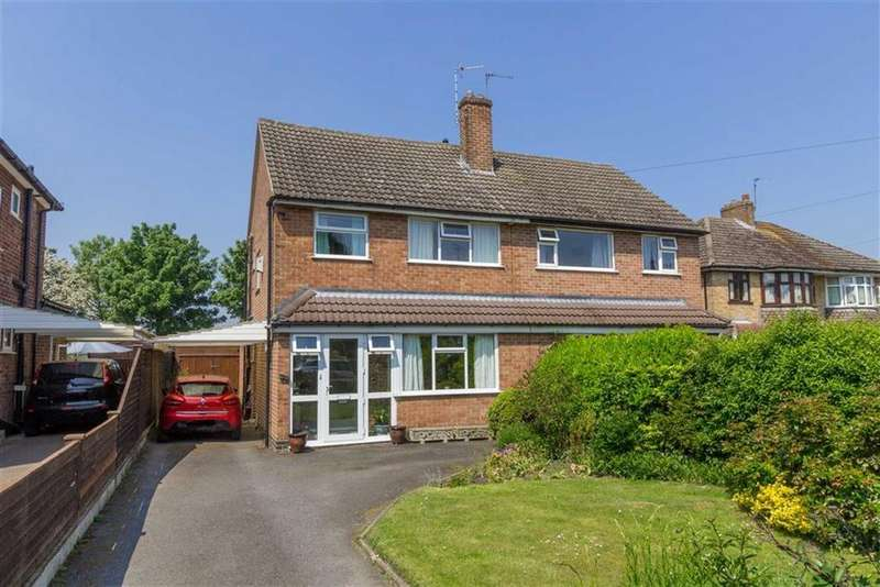 3 Bedrooms Semi Detached House for sale in Haydon Road, Loughborough, LE11