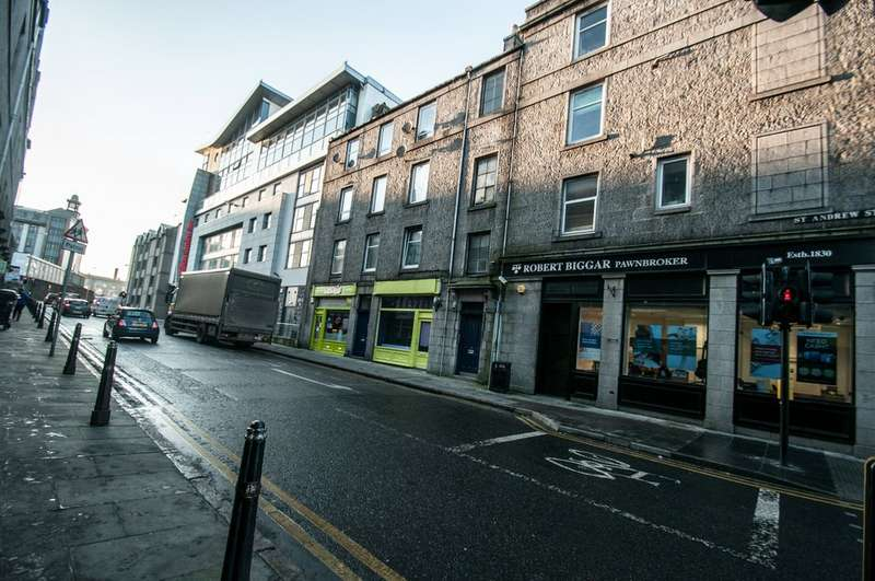 1 Bedroom Flat for sale in 29f St Andrew Street AB25