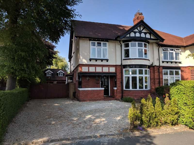 5 Bedrooms Semi Detached House for sale in Knutsford Old Road, Warrington, Cheshire, WA4