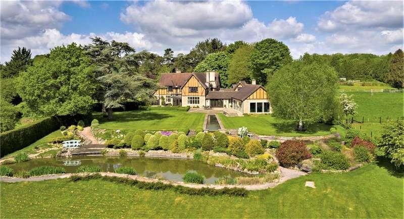 5 Bedrooms Detached House for sale in Ashes Lane, Freshford, Bath, Somerset, BA2