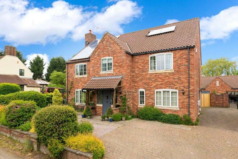 5 Bedrooms Detached House for sale in Kirkby Underwood Road, Aslackby, Sleaford, Lincolnshire, NG34