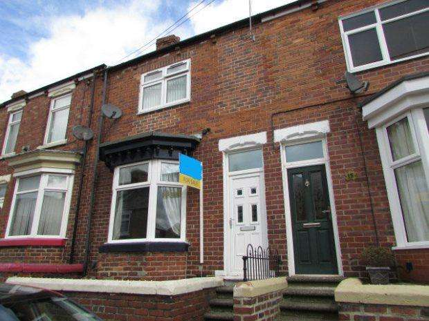 2 Bedrooms Terraced House for sale in ROSS TERRACE, FERRYHILL, SPENNYMOOR DISTRICT