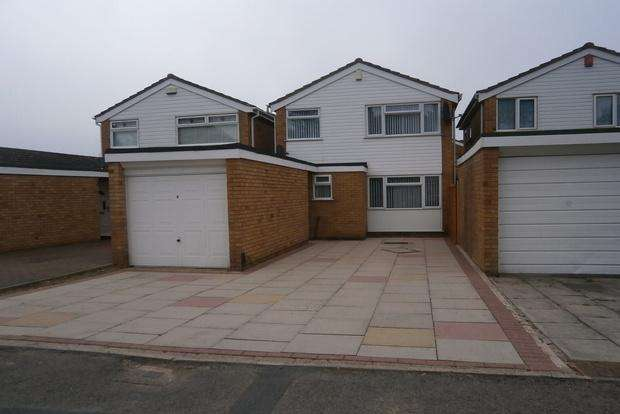 3 Bedrooms Detached House for sale in Milton Crescent, off Anstey Lane, Leicester, LE4