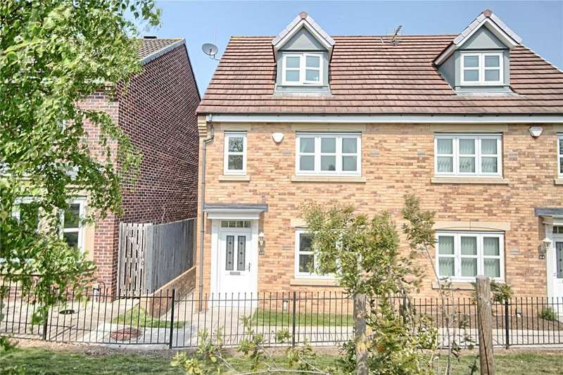 4 Bedrooms Semi Detached House for sale in Fairview Gardens, Norton
