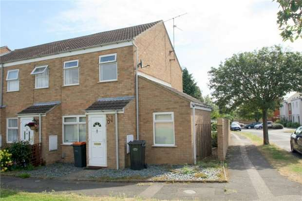 2 Bedrooms End Of Terrace House for sale in Crediton Close, Bedford