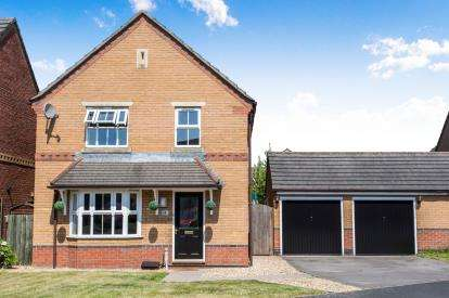 4 Bedrooms Detached House for sale in Milton Way, Ettiley Heath, Sandbach, Cheshire