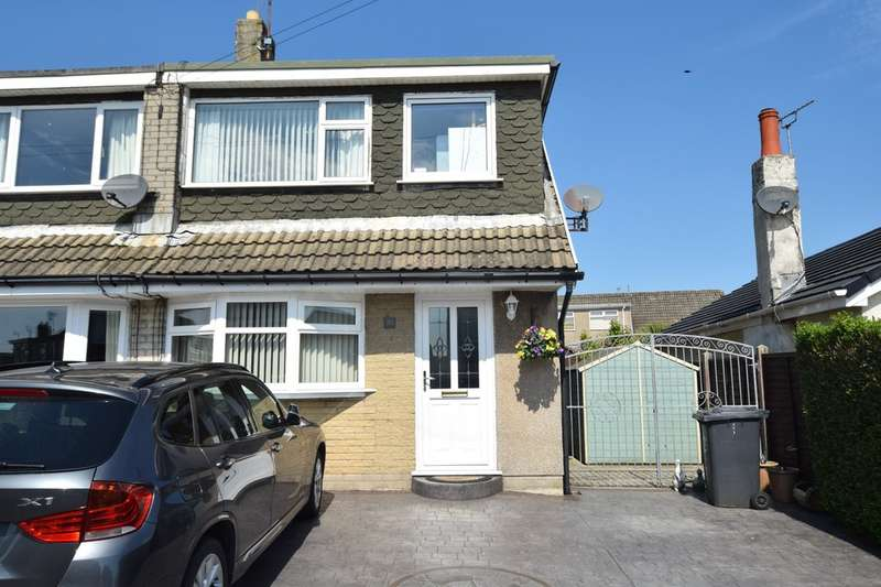 3 Bedrooms Semi Detached House for sale in Hest View Road, Ulverston, Cumbria, LA12 9PH