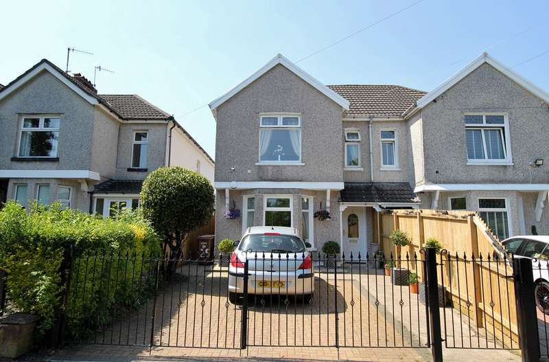 3 Bedrooms Semi Detached House for sale in Gwerthonor Road, Gilfach, Bargoed, CF81